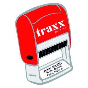 Red line: timbro con testo